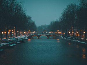 Amsterdam 1 plexiglas canvas