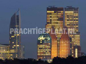 Den Haag Skyline Schilderij
