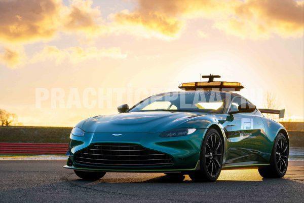 F1 Safety Car Plexiglas Schilderij